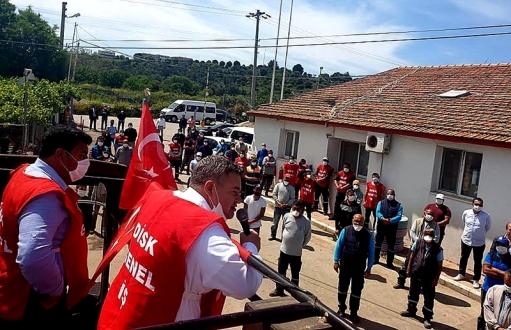 Başkan Oran, işçilerin bayramını kutladı
