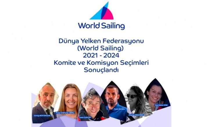 Dünya Yelken Federasyonu Komite ve Komisyonları'nda Türkiye'den 6 İsim