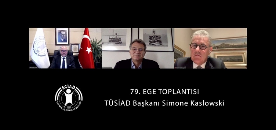 EGE Toplantısı'nda İzmir'deki Girişimcilik Ekosistemi Konuşuldu