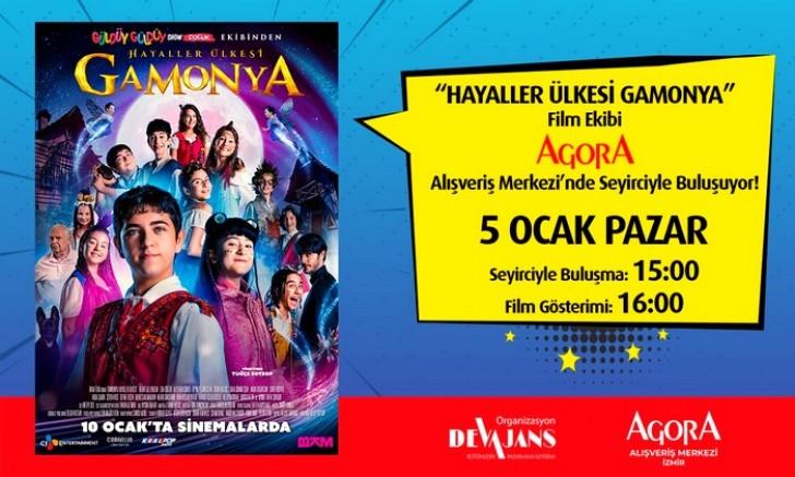 """Güldüy Güldüy Show Çocuk ekibi """"Hayaller Ülkesi GAMONYA"""" filminin özel  gösterimi ile 5 Ocak'ta İzmir'de!"""