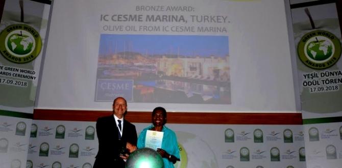 "IC Çeşme Marina'ya ""Yeşil Dünya 2018"" Ödülü"