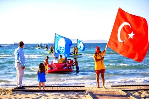 Ilıca'da Mavi Bayrak gururu!