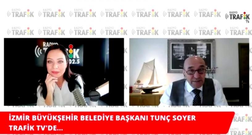 İzmir Büyükşehir Belediyesi Tunç Soyer Radyo Trafik İzmir özel yayınına konuk oldu.